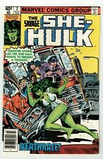 SAVAGE SHE-HULK #2 (FN) 2nd Appearance! Marvel 1980 Jennifer Walters! Newsstand