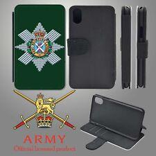 Black Watch iPhone Flip Case Cover
