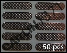 50pcs Apple iPhone 3 3GS 4 4S Anti Dust Mesh Ear Piece Self Adhesive USA