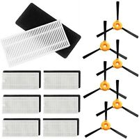 18pcs Side Brushes & Filter & Sponge For Eufy RoboVac 11 Robotic Vacuum Cleaner