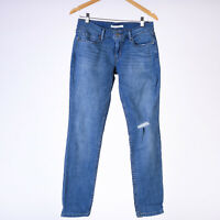 Levi's 524 Skinny Indigo beat blau Damen Jeans DE 36 / W29 L32