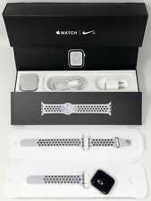 Apple MTXC2LL/A Watch Nike+ Series 4 GPS + Cellular, 44mm, Silver Aluminum Case