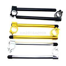 CNC Motorcycle Universal Regular 35mm Clip Ons Fork Tube Handle Bars handlebars