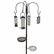 Gardman Mangeoire Bac à Graines Heavy Duty Oiseaux Sauvages Soins de jardin en métal à l/'extérieur patio