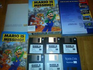 Mario is Missing  Nintendo Mindscape IBM PC& compatible #LB690