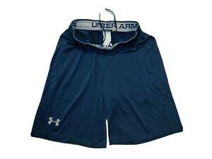 Under Armour Heatgear Mens Athletic Stretch Shorts Sz Medium Loose Fit Worn Once