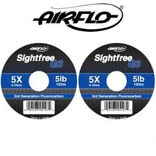 Airflo G3 Sightfree 3rd Generation Clear Fluorocarbon Fly Fishing Tippet 50m100m