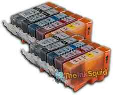 10 Ink Cartridges For Canon Pixma PGI525 CLI526 iX6550 MG5150 MG5200 MG5220