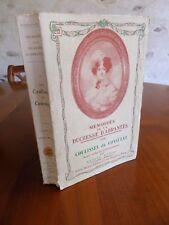 Mémoires de la Duchesse d'Abrantès   Les coulisses du consulat 1932