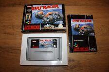 Jeu Dirt Racer pour console Super Nintendo SNES en boite complet