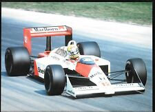 AYRTON SENNA MCLAREN MP4/4 HONDA PHOTOGRAPH VERY LARGE PRO SHOT