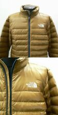 North Face Flare Down Jacket 550 Count Men's Size XL Dijon Brown