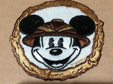 "Vintage WALT DISNEY MICKEY MOUSE Character Patch 3"" Embroidered NOS NEW"