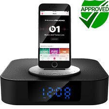 MoreAudio Proteus Docking Station Speaker Radio Alarm iPhone iPad iPod Bluetooth