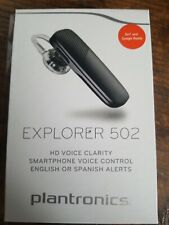 Plantronics Explorer 502 Bluetooth Headset - Black