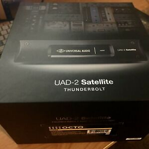 Universal Audio UAD-2 Satellite Thunderbolt - OCTO Core MINT IN THE BOX!!!