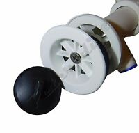 Bathroom Basin Sink Bottle Trap Waste Pipe Kit Strainer: Chrome or White 50mm