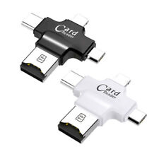 Micro USB Type C Card Reader OTG Micro SD TF Adapter For iPhone XS iPad Android