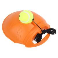 Portable Tennis Ball Singles Training Practice Drills Back Base Trainer & Tennis