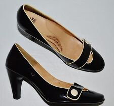 SOFFT SZ 11 M BLACK PATENT LEATHER PUMPS HEELS SHOES