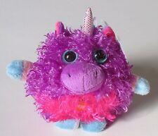 "drw purple UNICORN Whoorah Friends 4.5"" Ganz musical magical sound plush"