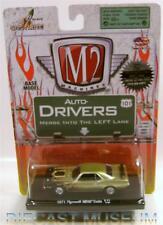 1971 '71 PLYMOUTH HEMI CUDA BARRACUDA R21 13-09 M2 MACHINES DRIVERS DIECAST
