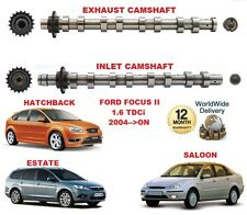 FOR FORD FOCUS II 1.6 TDCi 2004-->ON NEW INLET & EXHAUST ENGINE CAMSHAFT