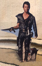 """The Road Warrior 1981 Movie Starring Mel Gibson Tabletop Standee 10 1/2"""" Tall"""
