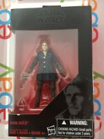 Star Wars 3.75 Black Series HAN SOLO Walmart Exclusive Force Awakens New