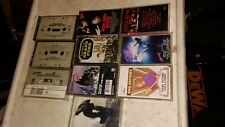 10 Vintage working Cassette Tapes:  Michael Jackson, Chicago, Funk,etc; FAST S&H