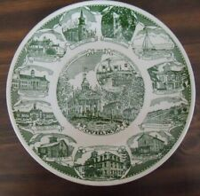 Town of Ovid, N.Y. 1976 Collector Plate Court House Square Willard Asylum