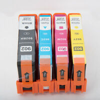 902XL 902 L Ink Cartridges for HP Officejet Pro 6960 6968 6970 6975 6978 4Pack
