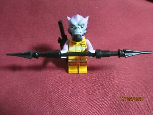 LEGO Star Wars Zeb Orrelios Minifigure Lot. Custom all real lego parts + weapons