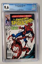 Amazing Spider-Man #361 CGC 9.6 - NEWSSTAND  1st Print - 1st Carnage Appearance