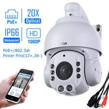 Sunba Mini PoE PTZ Camera IP 20X Zoom 1080P Network Night Vision Outdoor P2P