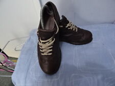 MEN'S CAMPER BROWN LEATHER LACE-UP SHOES SIZE UK 6 GREAT CONDITION