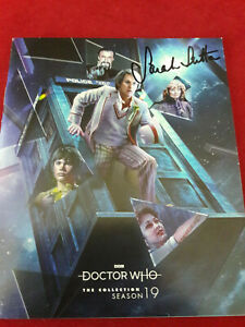 Doctor Who: SEASON 19 BLU-RAY Set Signed by 20 Cast and Crew incl Sarah Sutton