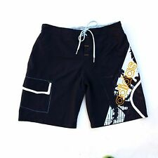 Adidas Swim bain Costume Shorts Bleu Marine Casuals Polyester S Small Super!!!