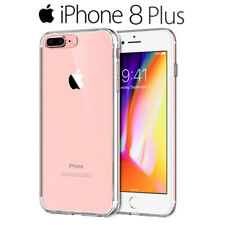 Funda Carcasa Gel Silicona Transparente para iPhone 8 Plus de 5,5""
