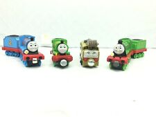 Thomas & Friends Talking Take N Play Trains Edward, Diesel 10, Henry & Percy LOT
