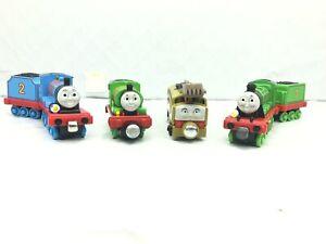 Thomas & Friends Talking Take N Play Trains Edward, Diesel 10, Henry & Percy LOT