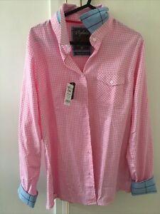 Rydale Poppy Gingham Ladies Shirt