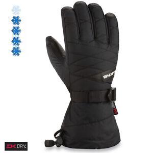 2020 Women's Dakine Tahoe Ski Gloves Size 7.5 Large Black 10000714 Ladies