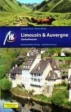 REISEFÜHRER Limousin & Auvergne Zentralmassiv 2018/19  Michael Müller Verlag NEU