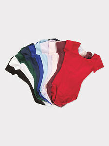 NEW Capezio Bloch Short Sleeve S/S Dance Leotard Bodysuit Toddler, Child Adult