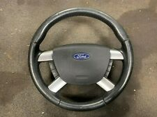 Ford Focus Steering Wheel 4 Four Spoke Leather Cruise Control 2005 - 2010 MK2 CC