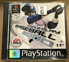 Triple Play Baseball 2000 (Sony Playstation 1, 1999)