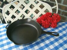 Griswold Cast Iron #7 Small Logo Hinge Tab Skillet – Cleaned and Seasoned