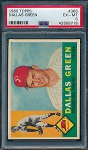 1960 Topps Set Break # 366 Dallas Green PSA 6 *OBGcards*