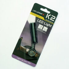 Led Lenser K2 Keychain Key Ring Torches LED Flashlight, 25 Lumens, Black , New